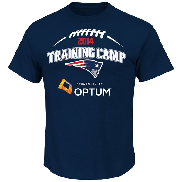 2014 Training Camp Tee-Navy