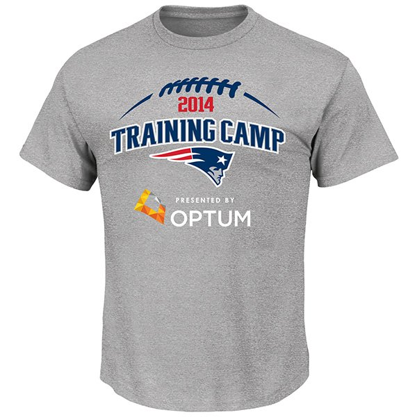 2014 Training Camp Tee-Gray