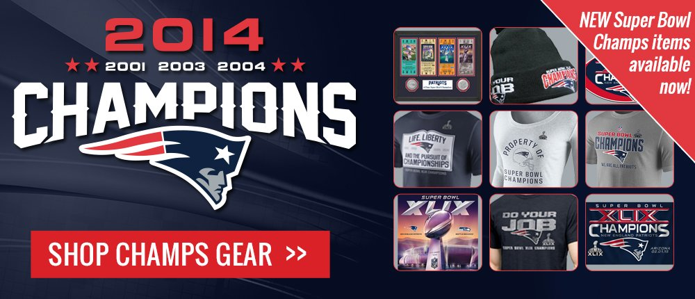 Super Bowl XLIX Champs  - Desktop Slide