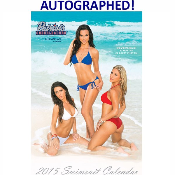 2015 Autographed Cheerleader Swimsuit Calendar