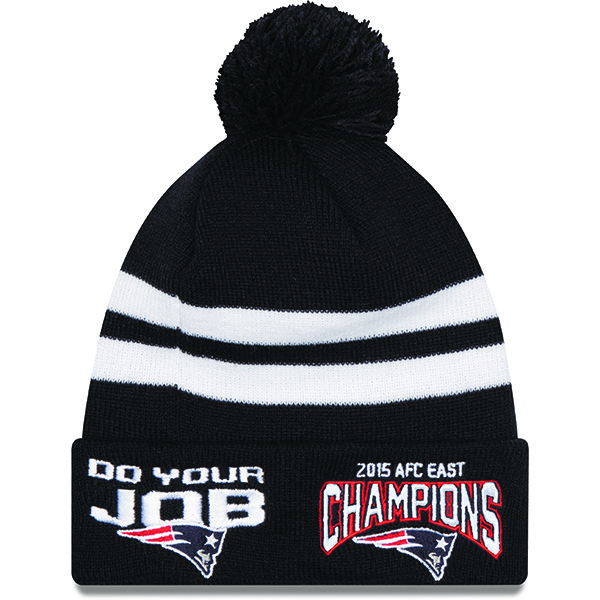 New Era 2015 AFC East Division Champs Do Your Job Knit