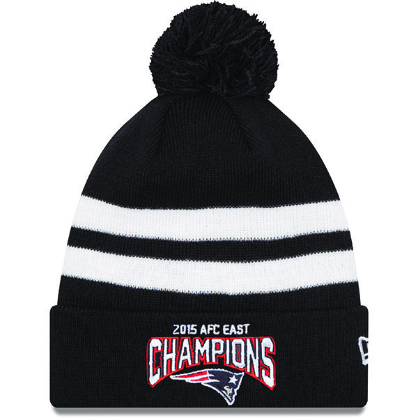 New Era 2015 AFC East Division Champs Knit