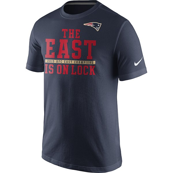 2015 Nike AFC East Division Champions Tee