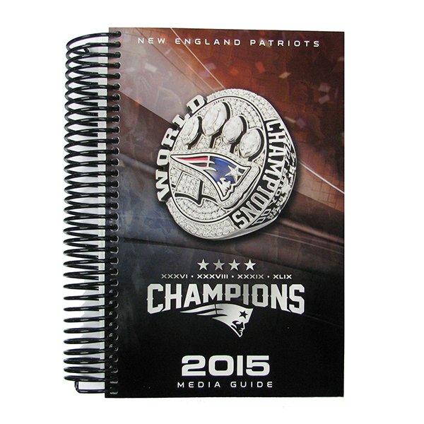 2015 Patriots Media Guide