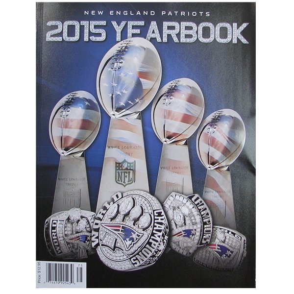 2015 New England Patriots Yearbook