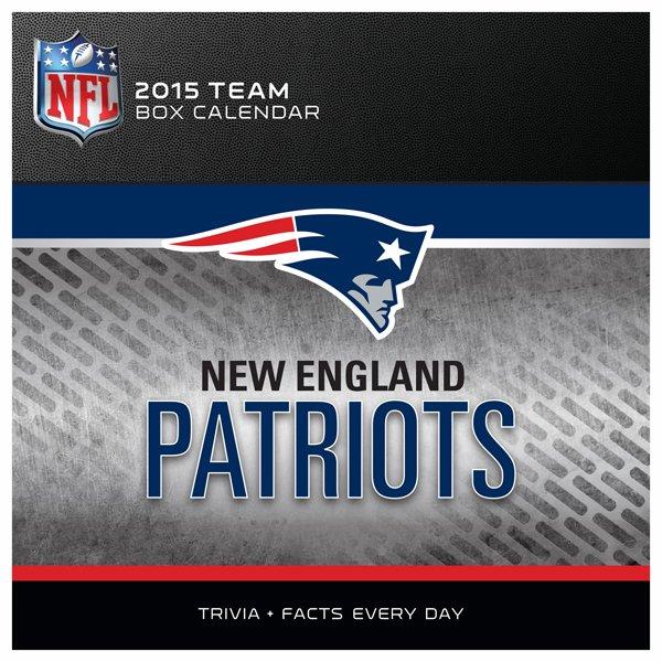 2015 Patriots Box Calendar