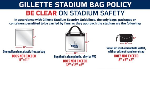 Be clear on stadium safety and learn more!