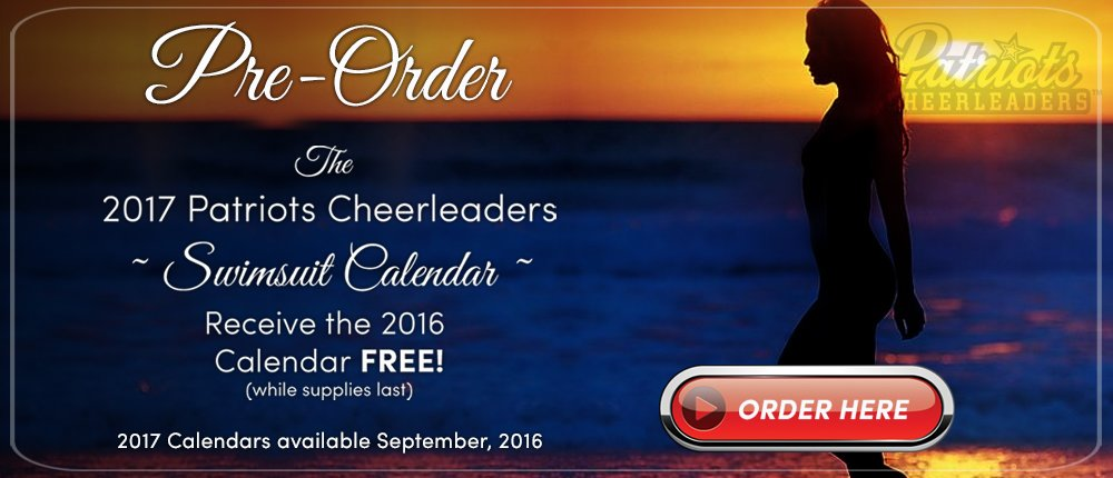 2016 Cheer Calendar Pre-Order - Desktop Slide