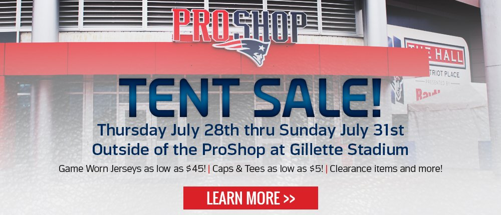 2016 Tent Sale - Desktop Slide