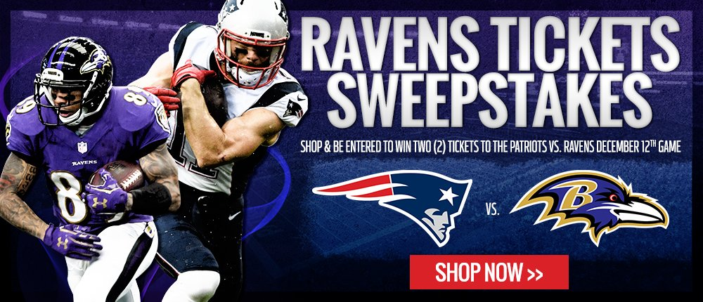2016 Ravens Tix Sweeps - Desktop Slide
