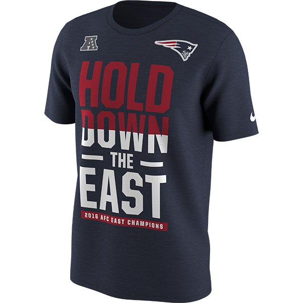 2016 Nike AFC East Division Champions Tee
