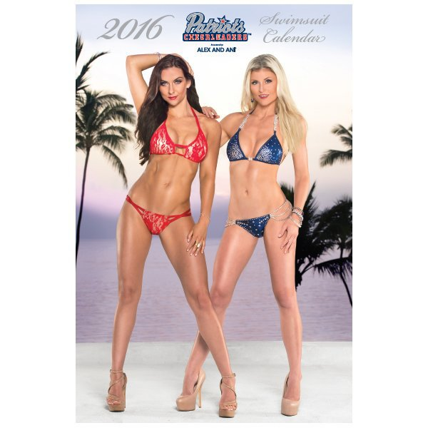 2016 Cheerleader Swimsuit Calendar