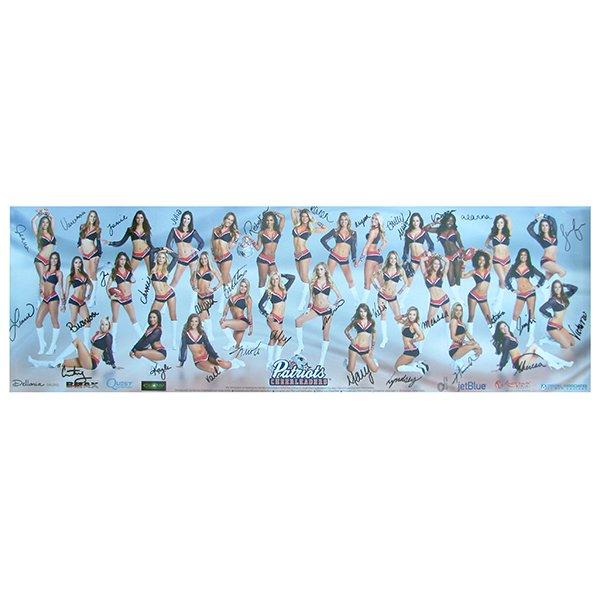 2016 Autographed Cheerleader Poster