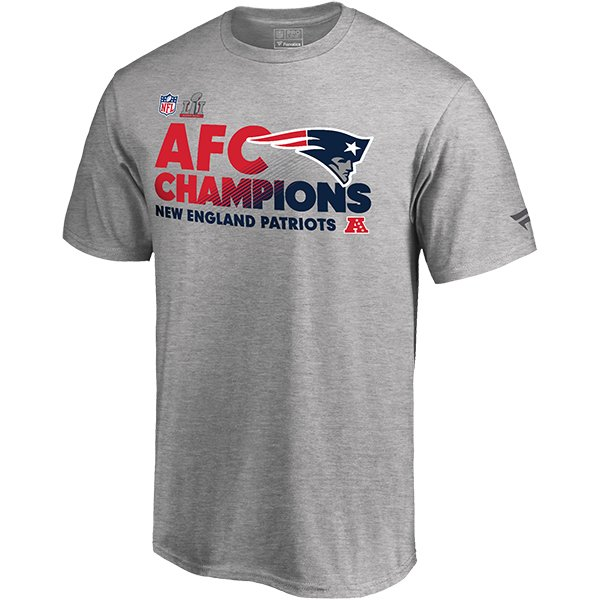 2016 AFC Champions Locker Room Tee-Gray