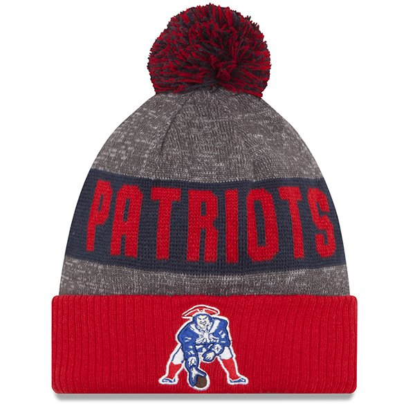 New Era 2016 On Field Throwback Knit-Red/Navy