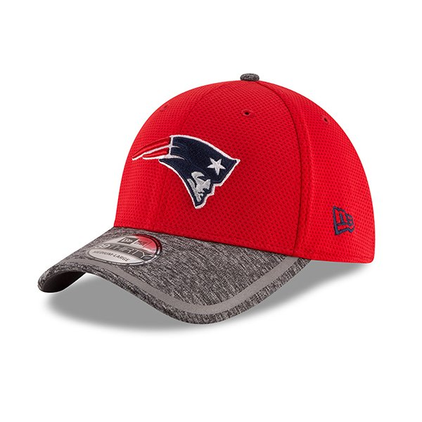 New Era 2016 Training 39Thirty Flex Cap-Red/Gray