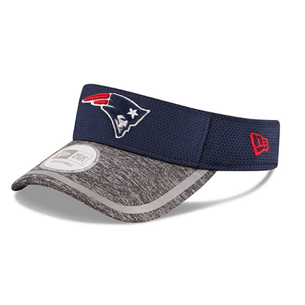 New Era 2016 Training Visor-Navy/Gray