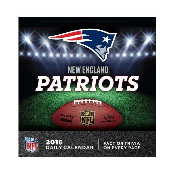 2016 Patriots Box Calendar