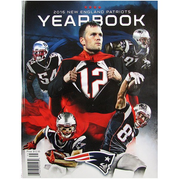 2016 New England Patriots Yearbook