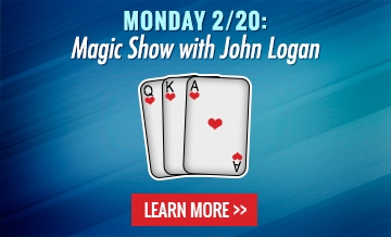 Monday 2/20: Magic Show with John Logan