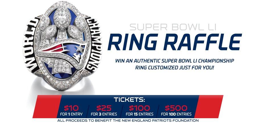 Super Bowl LI Ring Raffle