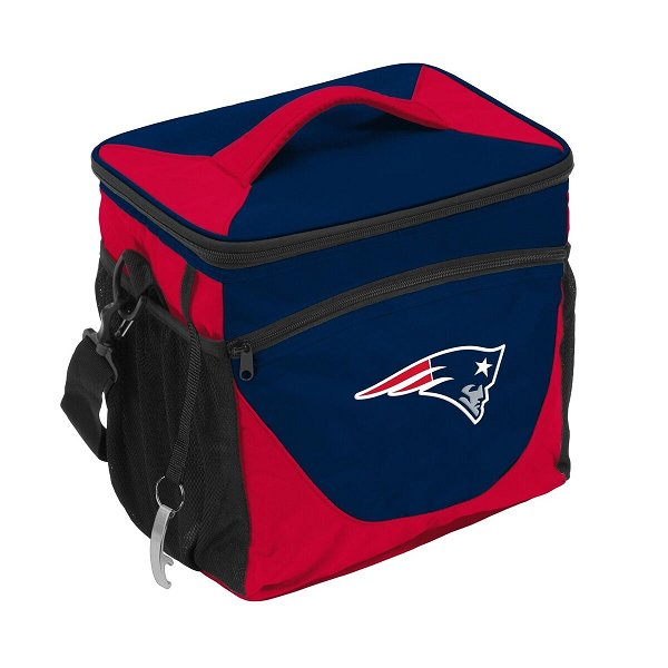 Patriots 24 Can Soft Cooler-Navy
