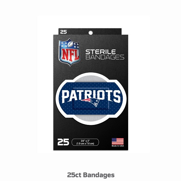 Patriots Bandages-25pk