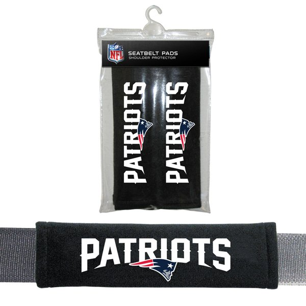 Patriots Seat Belt/Strap Pads