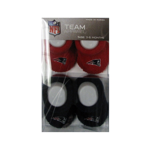 Patriots Baby Booties 2-Pack