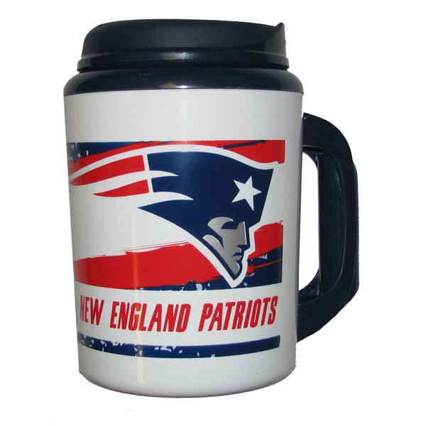 Patriots 34oz Insulated Chugger