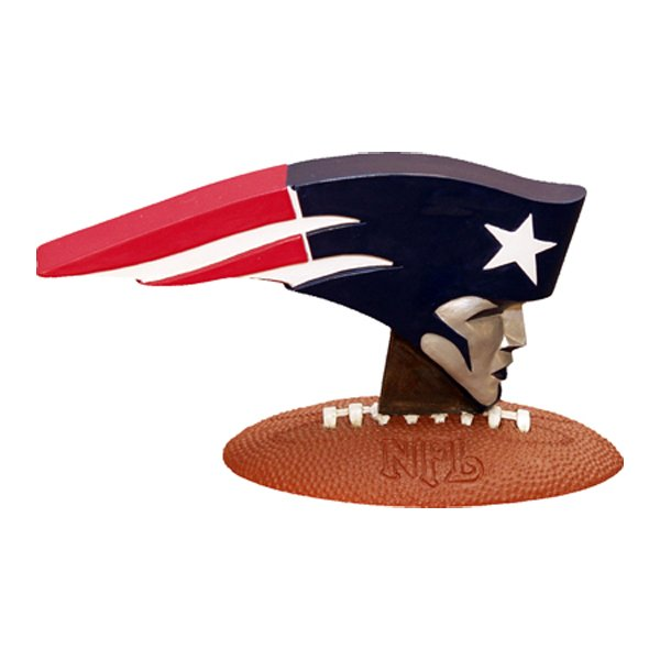 Patriots 3D Logo Figurine
