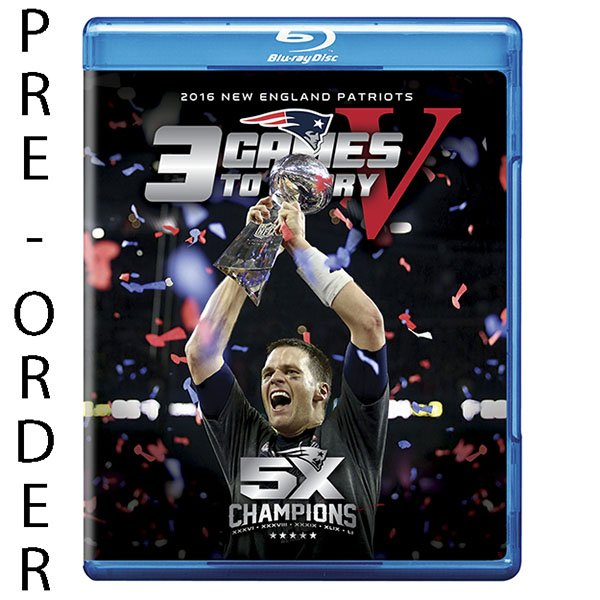 3 Games To Glory 5 Blu-Ray DVD