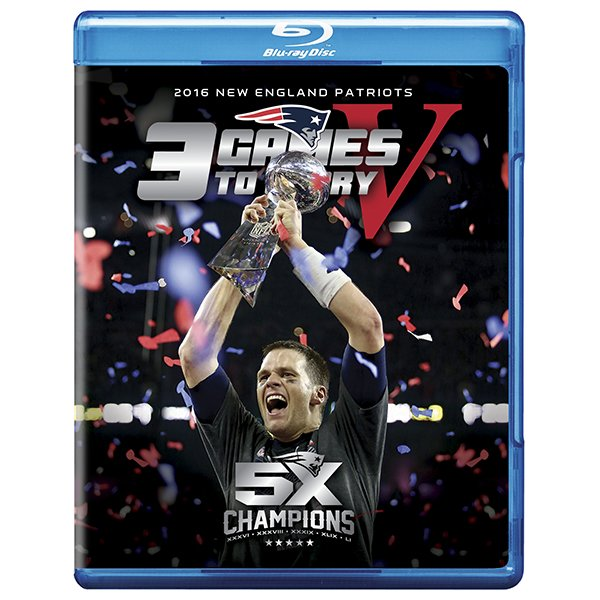 3 Games To Glory V BluRay DVD