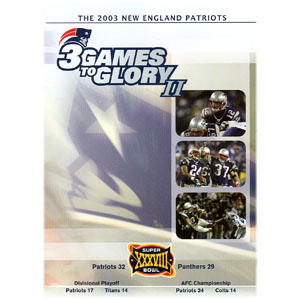 3 Games to Glory ® II DVD