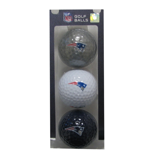 Patriots Golf Ball 3-Pack