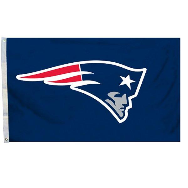 Patriots Logo Flag-Navy