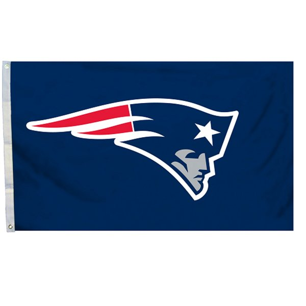 Patriots Logo Flag-Navy