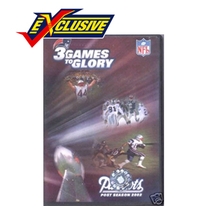 Three Games to Glory  DVD 