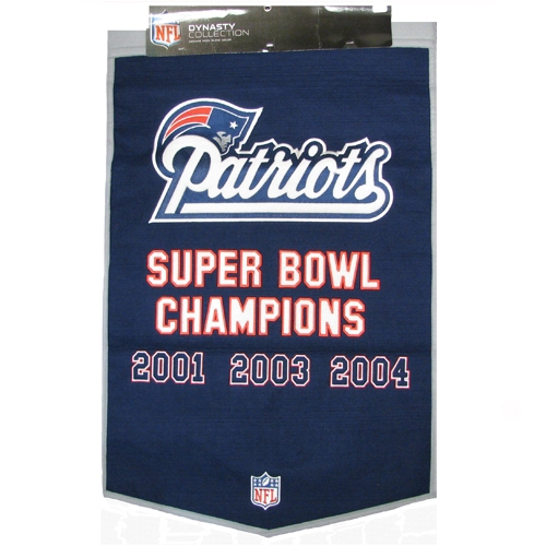 3X Champs 27x37 Wool Banner