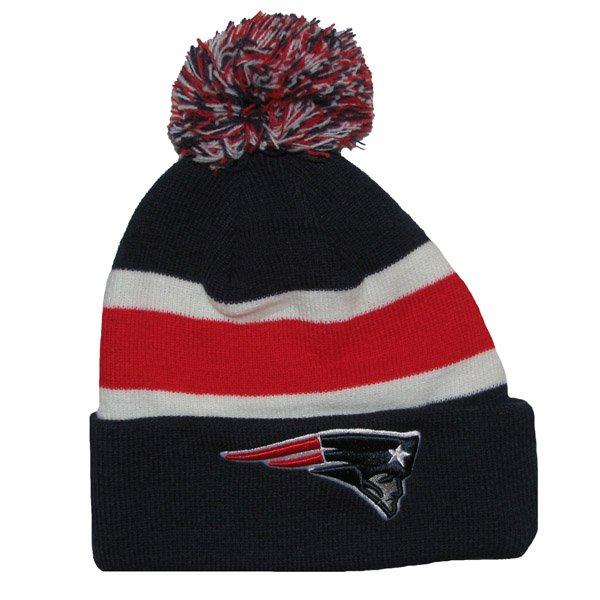 Patriots 47 Breakaway Knit Hat-Navy