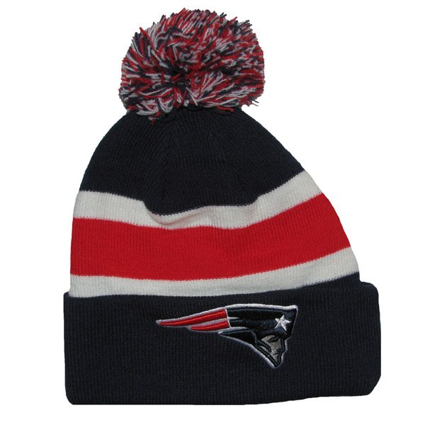 Patriots 47 Brand Breakaway Knit Hat-Navy