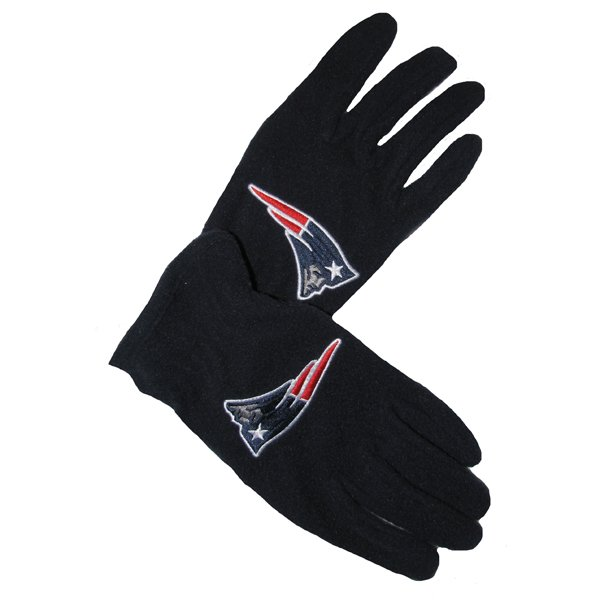 Patriots 47 Brand Fleece Gloves-Navy