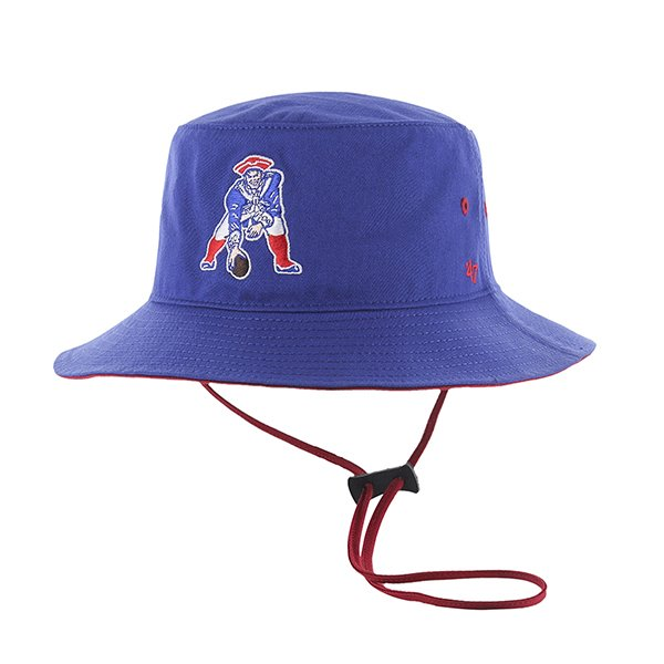 '47 Brand Kirby Throwback Bucket Hat-Royal