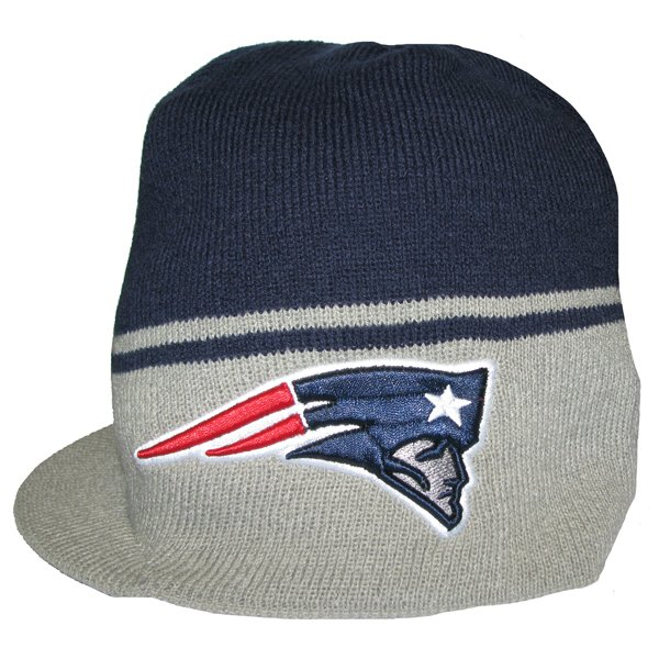 Patriots 47 Brand Powerback Visor Knit