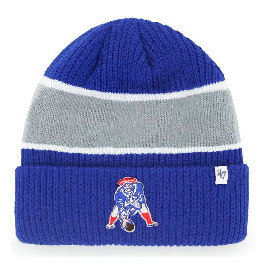 '47 Throwback Baniff Cuffed Knit-Royal/Gray