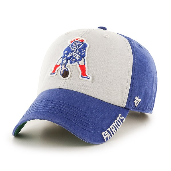 '47 Throwback Middlebrook Cap-Royal/White