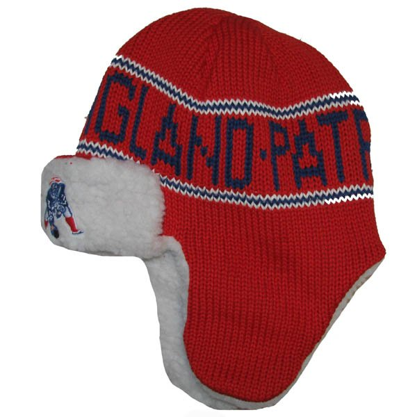 Patriots Throwback 47 Brand Yeti Trooper Hat-Red