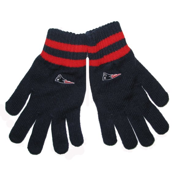 Patriots 47 Brand Knit Team Player Gloves