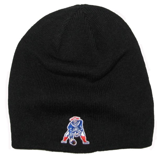 Patriots Throwback 47 Brand Beanie-Black