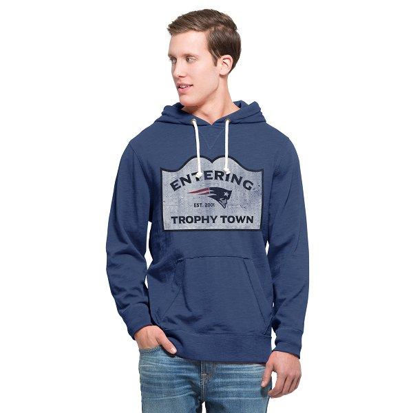 Trophy Town Slugger Hood-Blue